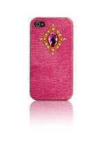 iPhone 4/4S Roze Crystal Palazzo 3D