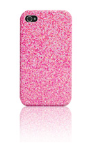 iPhone 4/4S Roze Zirkoon Case
