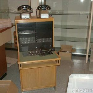 Antique telephone exchange