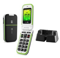 Doro PhoneEasy 410gsm Black incl. Cradle
