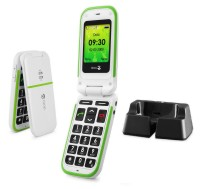 Doro PhoneEasy 410gsm White incl. Cradle