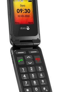 Doro PhoneEasy 409gsm Black