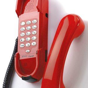HD2000 met toetsen en speaker rood