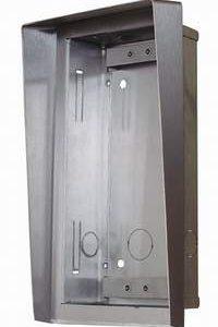 Inbouwbehuizing/regenkap en inb.raam voor 1 module