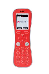 Kirk Butterfly handset, rood