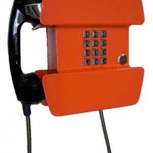 1900-10D Vandaalbestendige telefoon RVS
